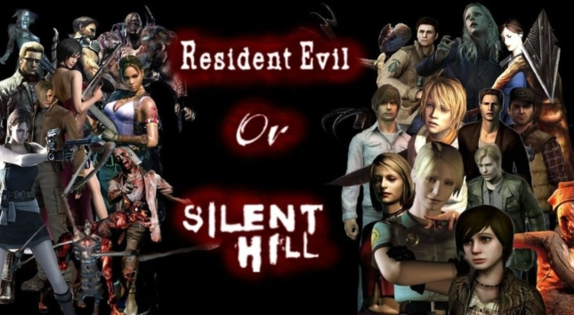 Silent Hill vs Resident Evil. Which do you like? Is your favorite RE or SH!