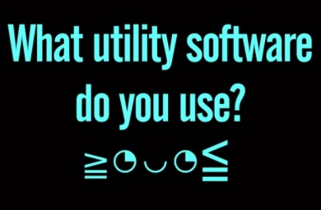 What Utility Software Do You Use? Asks NixiePixie