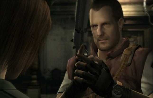 You the Master of Unlocking Resident Evil Remake Jill and Barry Screenshot
