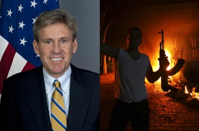 9-11-12 Chris Stevens US Ambassador Killed In Muslim Attacks
