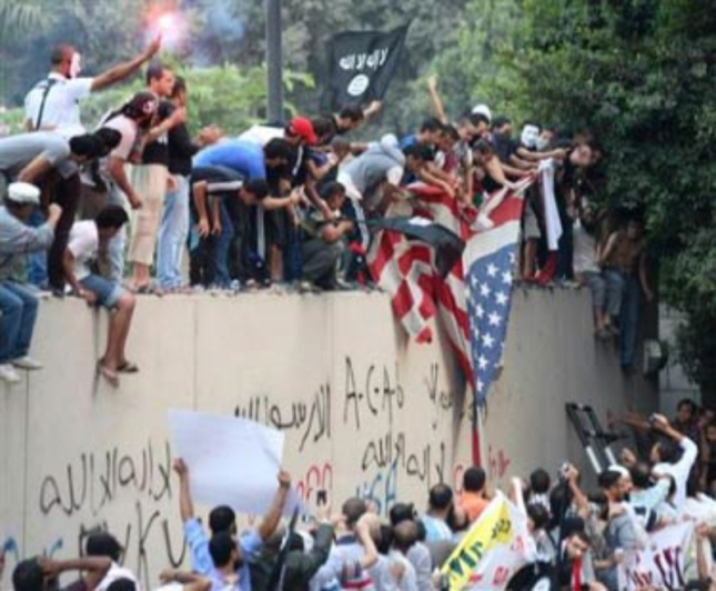 9-11-12 Muslims Riot to Riot. Again