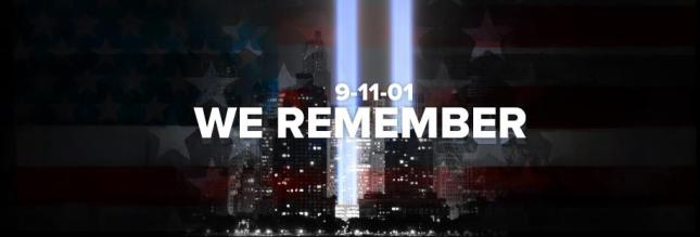 911 Facebook Cover September 11th 2012 We Remember Artwork Banner