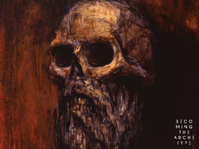 Becoming the Archetype I Am Bearded Skull Wallpaper