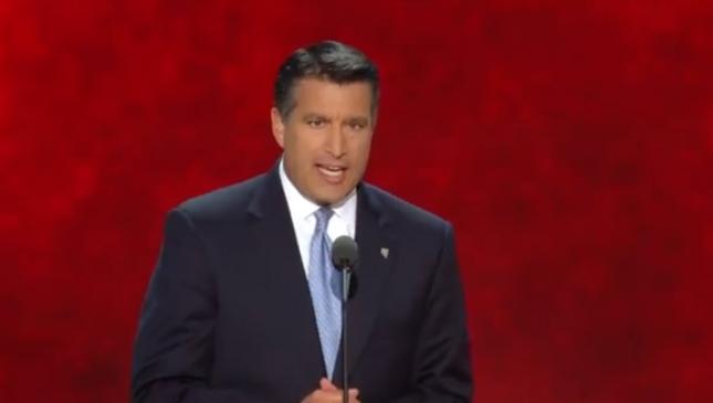 Brian Sandoval Hispanic Nevada Governor RNC2012 Speech Photo Pic