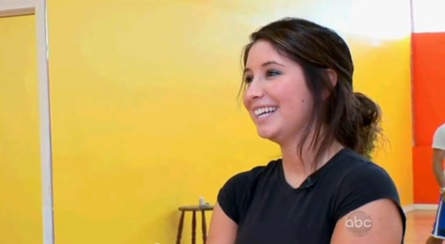 Bristol Palin Dancing With the Stars 2012 Cutie. Photo from practice tryouts