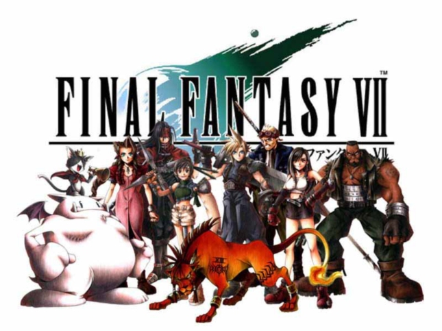Cast of FFVII. Beloved Final Fantasy VII character artwork