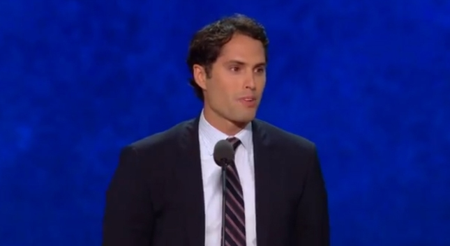 Craig Romney RNC2012 Speech Photo Pic. Spoke in Spanish to Audience of Republican National Convention 2012