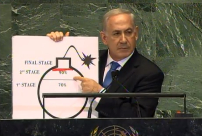Iran Red Line Israeli Prime Minister Benjamin Netanyahu UN United States Full Speech September 2012