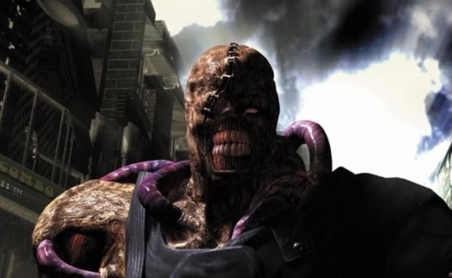 Nemesis Artwork Resident Evil 3