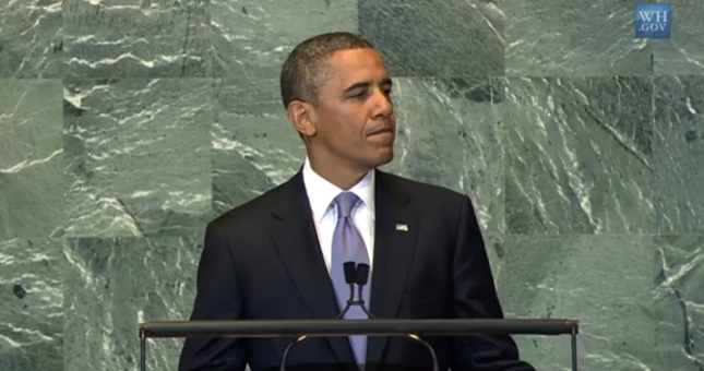 Obama UN United Nations September 2012 Speech