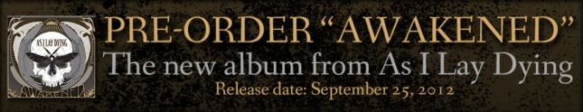 Pre-Order As I Lay Dying Awakened Release Date Is September 25 2012