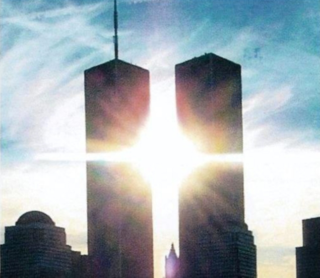 Twin Towers 911 Sunrise