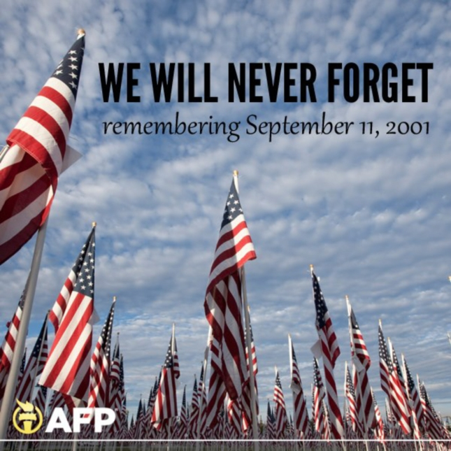 Remember 911 Thousands of American Flags Photo