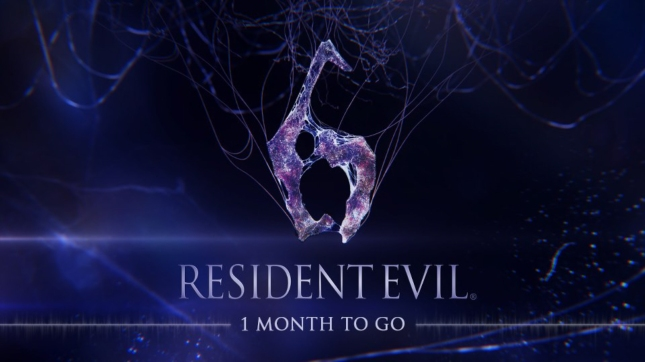Resident Evil 6 One Month to Go Wallpaper