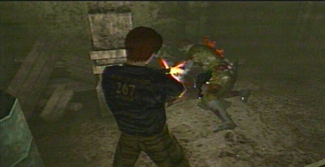 Resident Evil: Code Veronica Steve Gameplay Screenshot