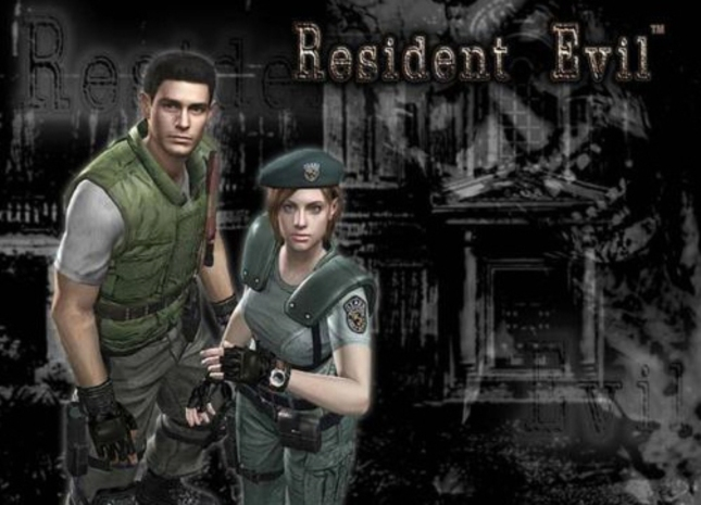 Resident Evil Remake Wallpaper Chris and Jill