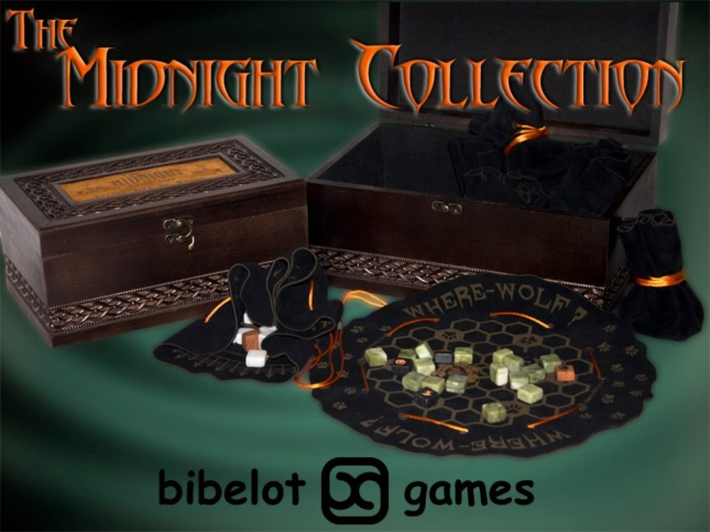 The Midnight Collection Boardgame Bibelot Games Kickstarter Set - BUY NOW!