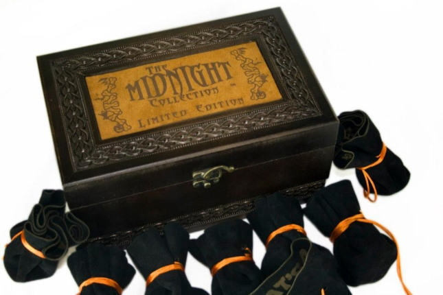 The Midnight Collection Boxset With Pouch Boardgames kickstarter