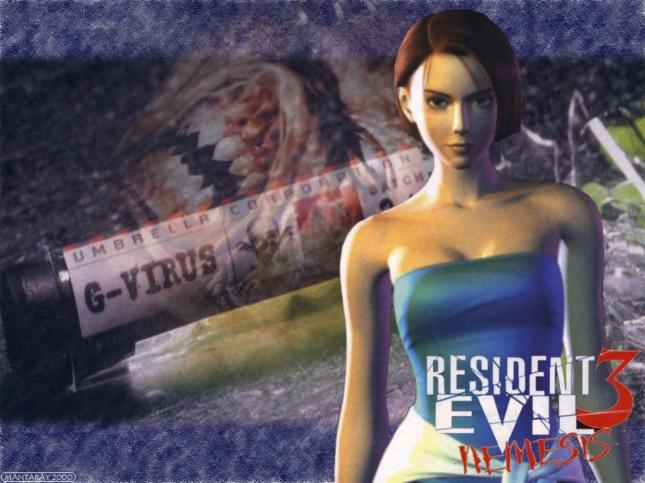 Wallpaper Resident Evil 3 Jill Valentine