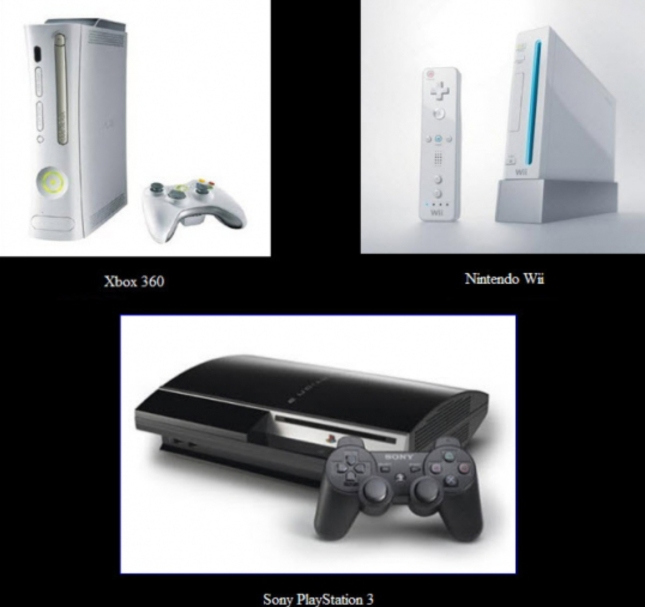 7th Gen Console Wars Xbox 360 vs PS3 vs Wii