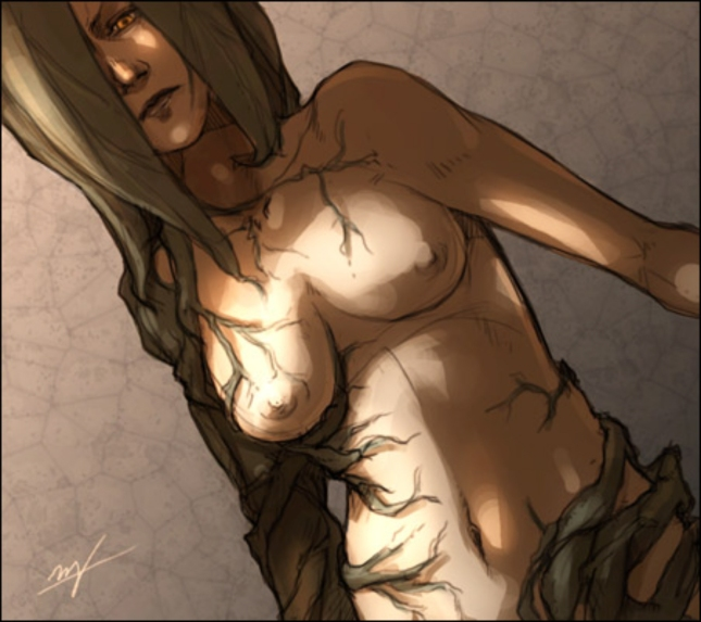 Alexia Ashford Queen Mutant Sexy Artwork Resident Evil: Code Veronica