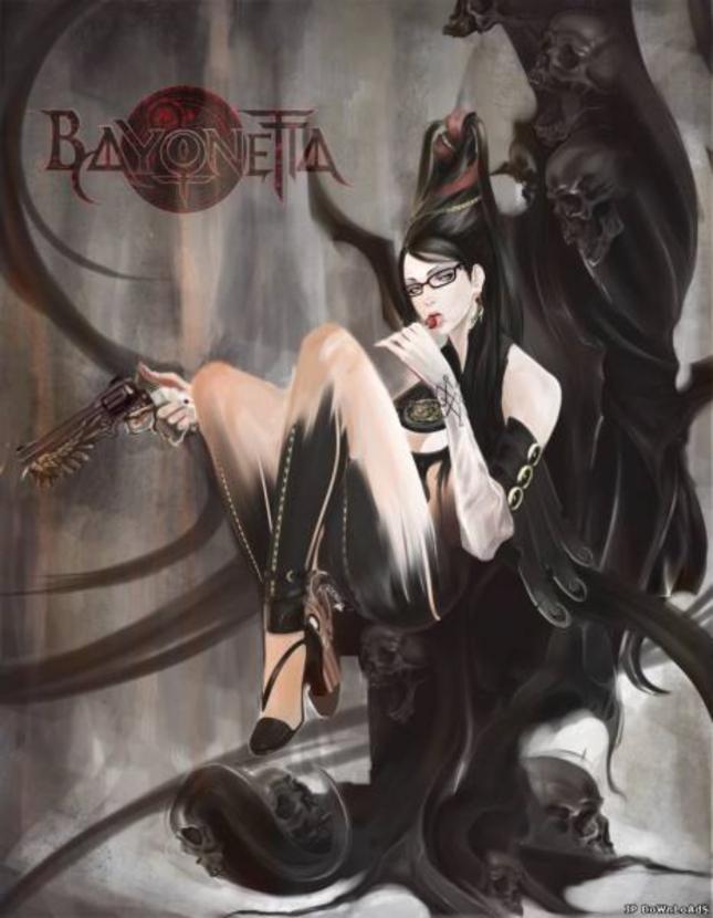 Bayonetta Sexy Girl Artwork