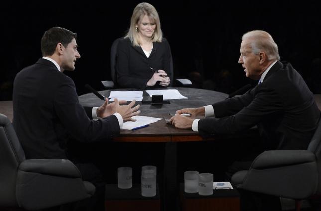 Biden vs Ryan Debate 2012 Faceoff of Titans
