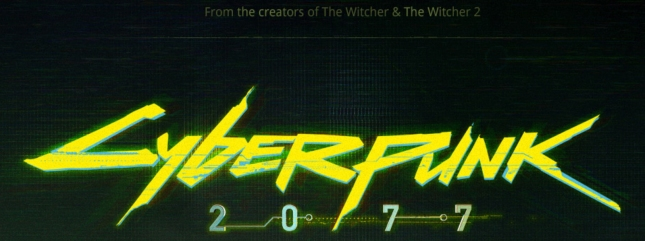 Cyberpunk 2077 Logo From Makers of The Witcher RPG Series