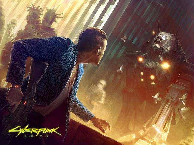 Cyberpunk 2077 Wallpaper Mech