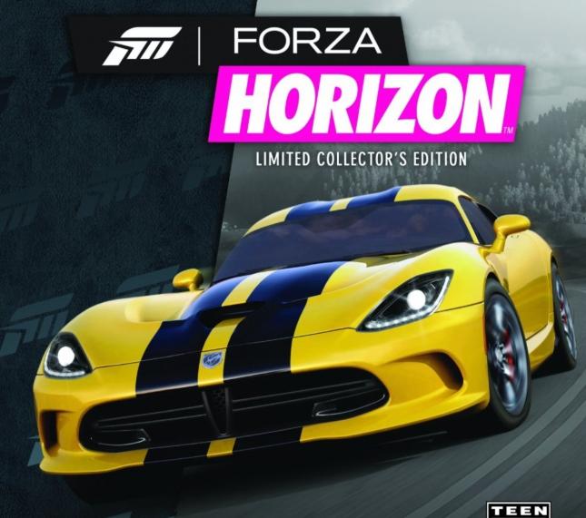 Forza Horizon For Xbox 360 Box Artwork