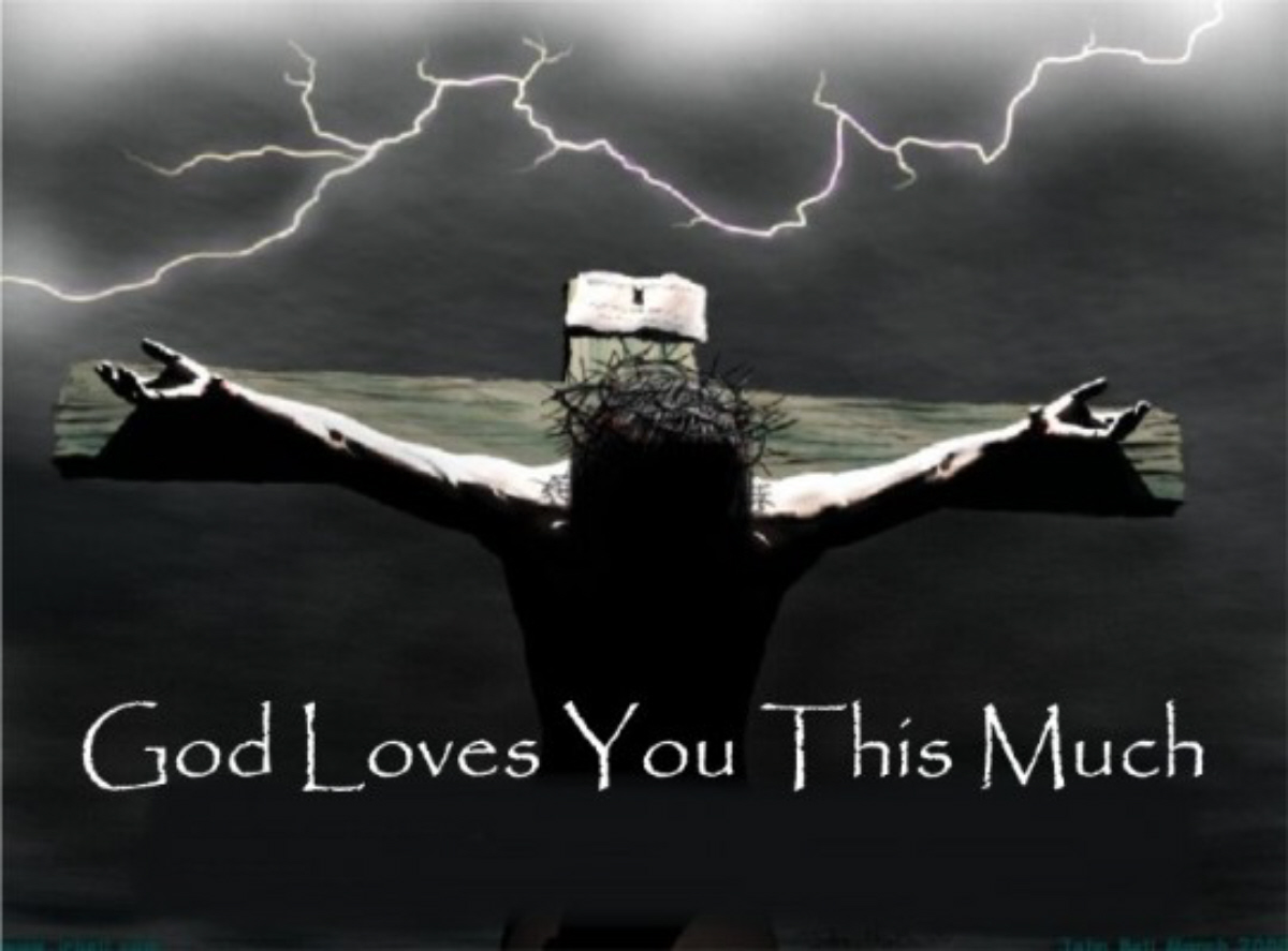 God loves us song