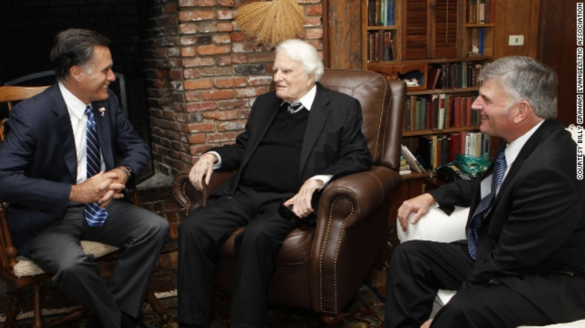 Mitt Romney Billy Graham Meet October 11 2012