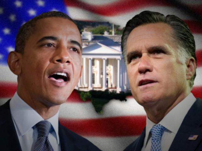 Whitehouse Love Race for President 2012 Obama vs Romney