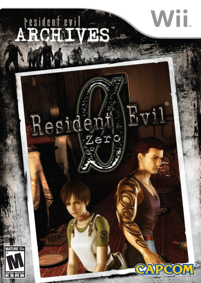 Resident Evil 0 Box Artwork (Wii)