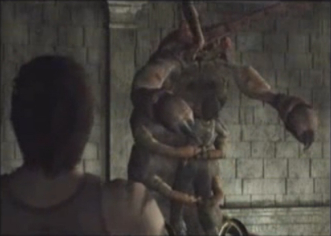 Resident Evil 0 Giant Centipede Boss Hugs Rebecca Screenshot