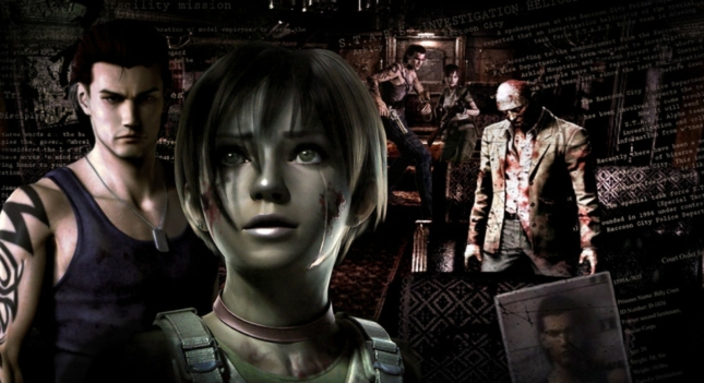 Resident Evil 0 Character Wallpaper Artwork Billy Rebecca