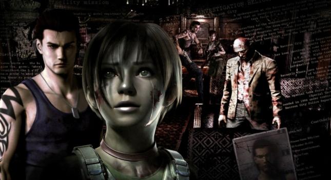 Resident Evil 0 Character Wallpaper Artwork Billy Rebecca