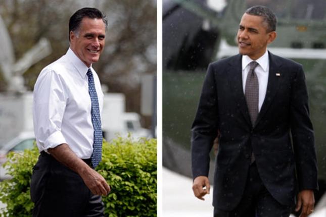 Romney Obama Presidential