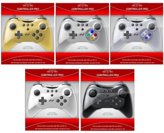 Wii U Super Nintendo Controllers Rainbow Colors And Styles
