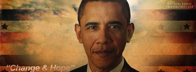 Change and Hope Obama Facebook Timeline Cover