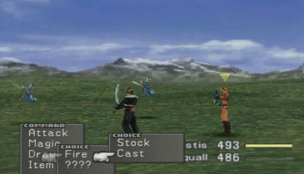 Image result for ffviii magic