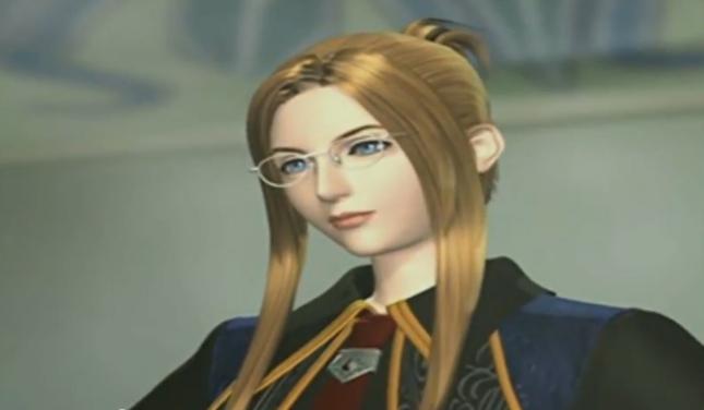 Final Fantasy VIII Gorgeous Quistis Meets Squall CG Screenshot FFVIII Cutscene