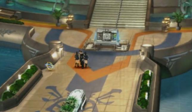 Final Fantasy VIII Save Point Orb Gameplay Screenshot FFVIII