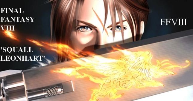 Final Fantasy VIII Squall Facebook Timeline Cover Artwork