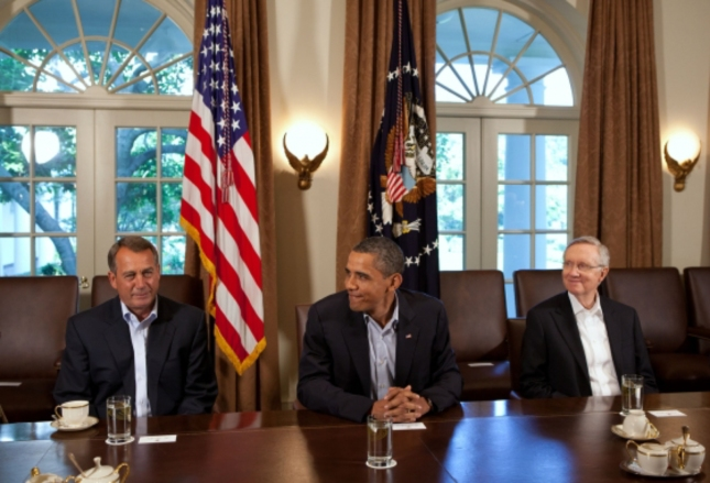 John Boehner Obama Harry Reid All Re-Elected. Time For Round Two. Yay?