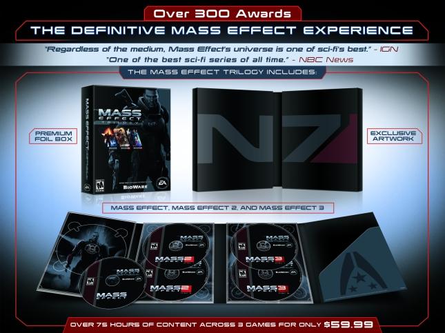 Mass Effect Trilogy Box Set