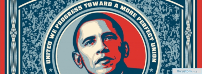 Obama United We Progess Toward A More Perfect Union Facebook Timeline Cover