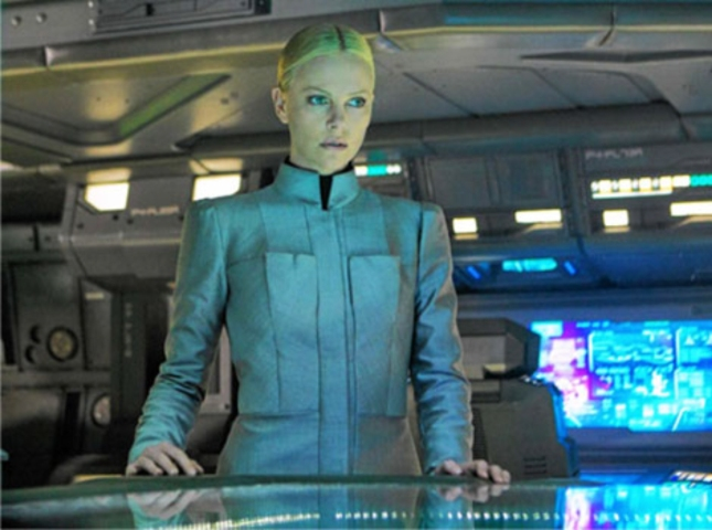 Prometheus Beautiful Girl Charlize Theron As Meredith Vickers Screenshot