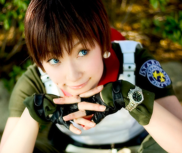 Resident Evil 0 Cosplay Cute Rebecca Chambers Girl