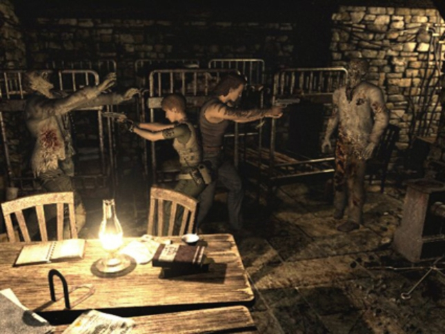 Resident Evil 0 Dual Zombie Fighting. Zero Degrees of Separation Gameplay Screenshot